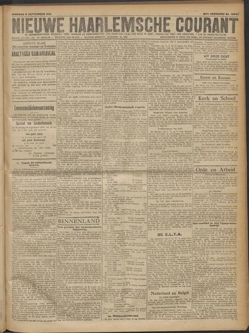 Nieuwe Haarlemsche Courant 1919-09-09