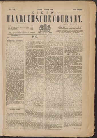 Nieuwe Haarlemsche Courant 1888