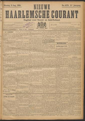 Nieuwe Haarlemsche Courant 1906-08-21