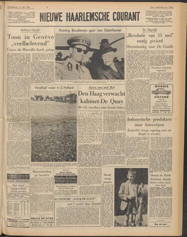 Nieuwe Haarlemsche Courant 1959-05-14
