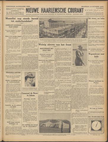 Nieuwe Haarlemsche Courant 1935-10-14