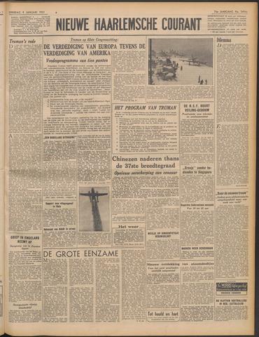 Nieuwe Haarlemsche Courant 1951-01-09