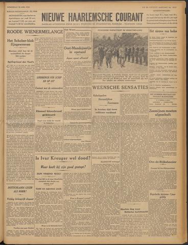 Nieuwe Haarlemsche Courant 1932-04-28