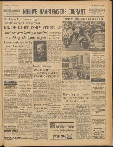 Nieuwe Haarlemsche Courant 1963-06-27