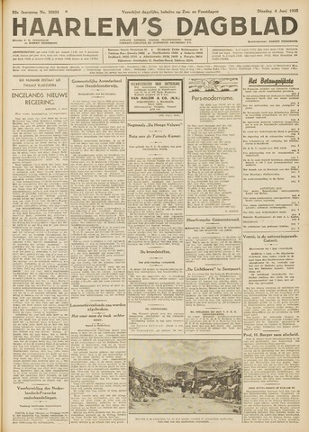 Haarlem's Dagblad 1935-06-04