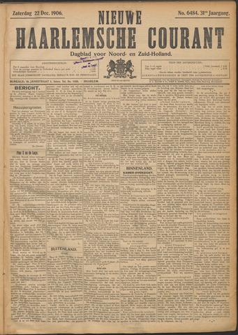 Nieuwe Haarlemsche Courant 1906-12-22