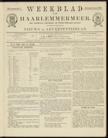 Weekblad van Haarlemmermeer 1887-01-08