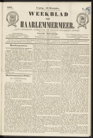 Weekblad van Haarlemmermeer 1863-12-18