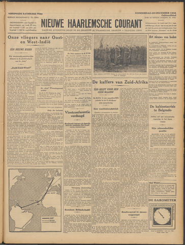 Nieuwe Haarlemsche Courant 1934-12-20