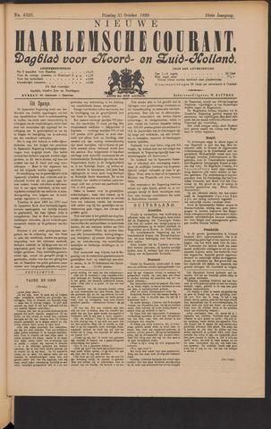Nieuwe Haarlemsche Courant 1899-10-31