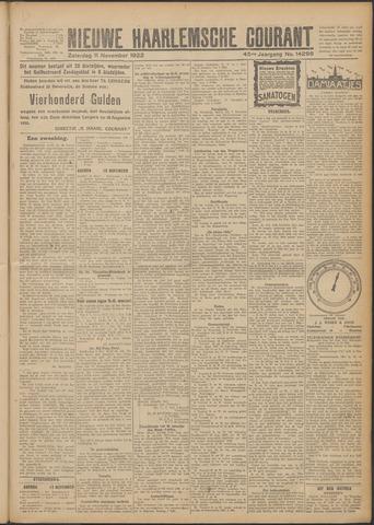 Nieuwe Haarlemsche Courant 1922-11-11