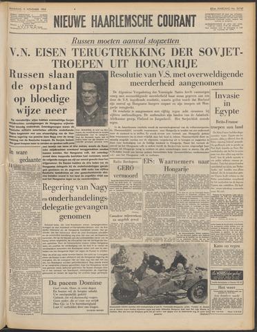 Nieuwe Haarlemsche Courant 1956-11-05