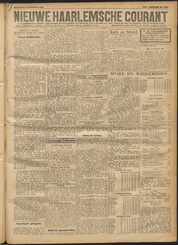 Nieuwe Haarlemsche Courant 1920-02-23