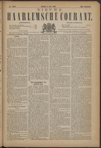Nieuwe Haarlemsche Courant 1893-07-09