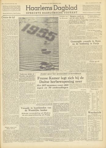 Haarlem's Dagblad 1954-12-31