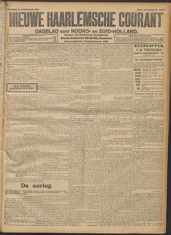 Nieuwe Haarlemsche Courant 1914-08-21