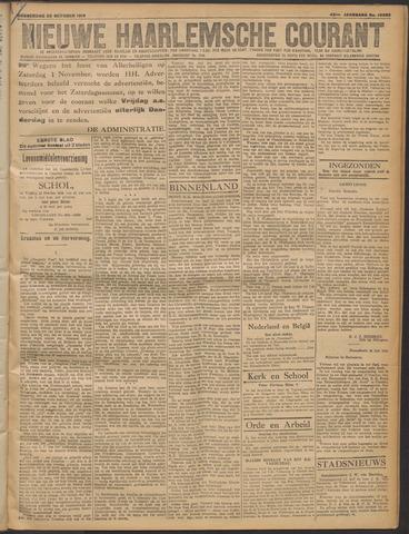 Nieuwe Haarlemsche Courant 1919-10-30