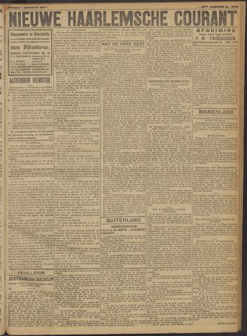 Nieuwe Haarlemsche Courant 1917-08-07