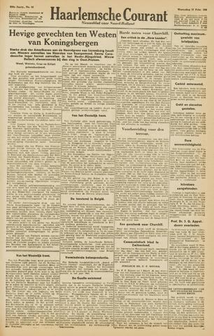 Haarlemsche Courant 1945-02-21