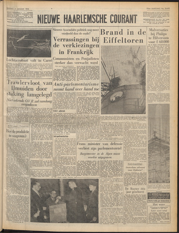 Nieuwe Haarlemsche Courant 1956-01-03
