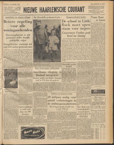 Nieuwe Haarlemsche Courant 1958-09-13
