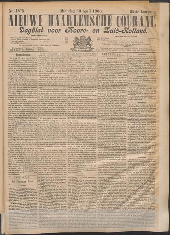 Nieuwe Haarlemsche Courant 1900-04-30