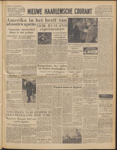 Nieuwe Haarlemsche Courant 1951-10-06