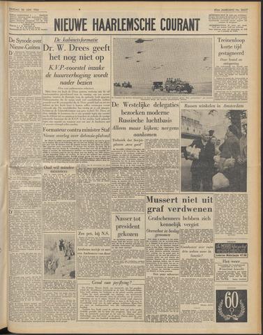 Nieuwe Haarlemsche Courant 1956-06-26