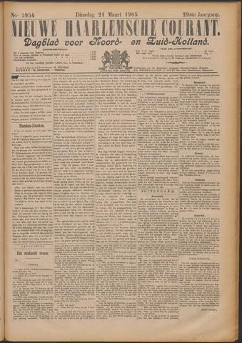Nieuwe Haarlemsche Courant 1905-03-21