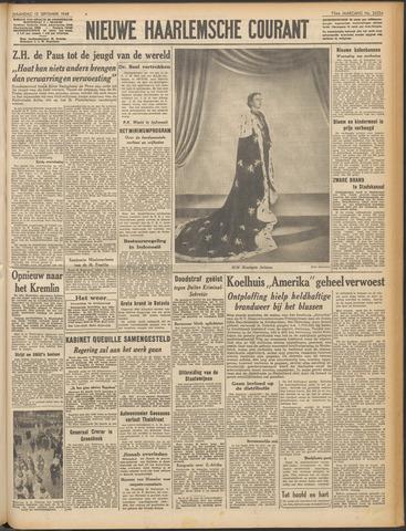 Nieuwe Haarlemsche Courant 1948-09-13