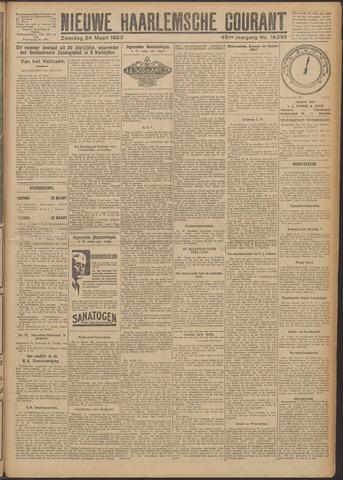 Nieuwe Haarlemsche Courant 1923-03-24