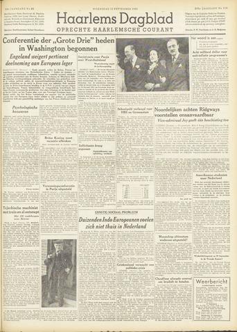 Haarlem's Dagblad 1951-09-12