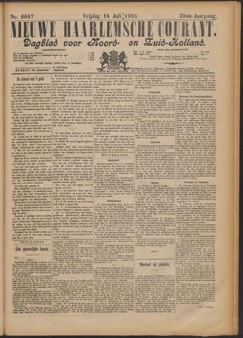 Nieuwe Haarlemsche Courant 1905-07-14