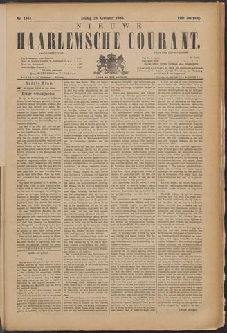 Nieuwe Haarlemsche Courant 1886-11-28