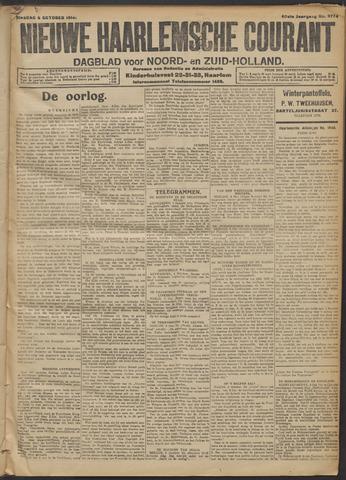 Nieuwe Haarlemsche Courant 1914-10-06