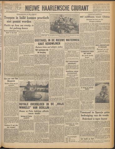 Nieuwe Haarlemsche Courant 1947-11-12