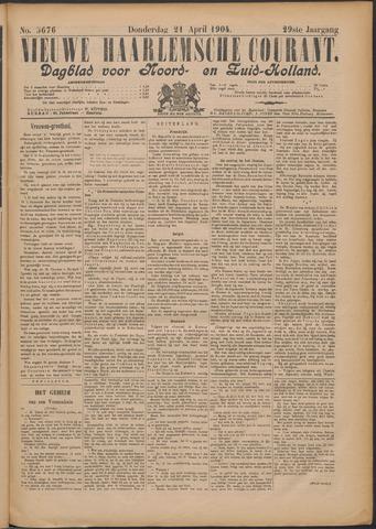 Nieuwe Haarlemsche Courant 1904-04-21