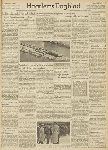 Haarlem's Dagblad 1947-04-12