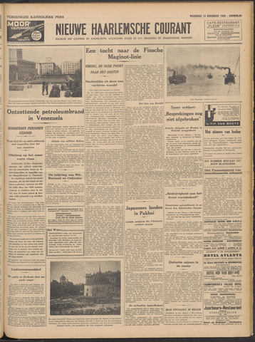 Nieuwe Haarlemsche Courant 1939-11-15