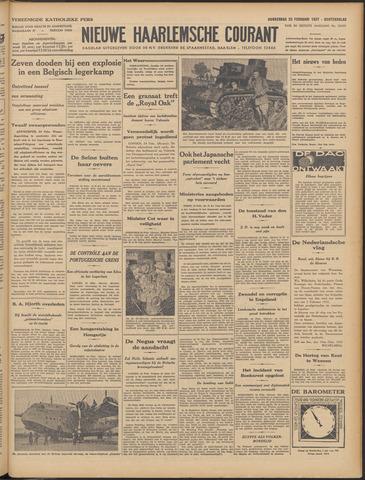 Nieuwe Haarlemsche Courant 1937-02-25