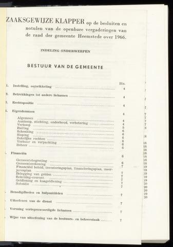 Raadsnotulen Heemstede 1966