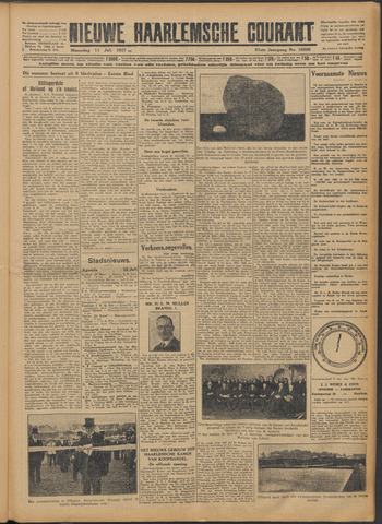 Nieuwe Haarlemsche Courant 1927-07-11