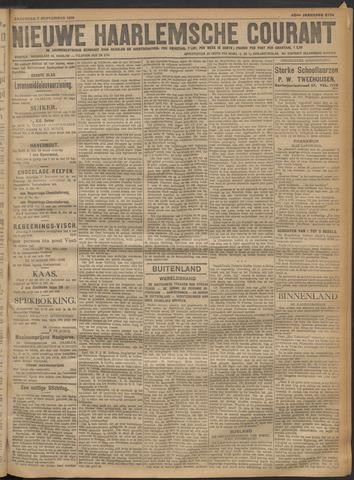 Nieuwe Haarlemsche Courant 1918-09-07