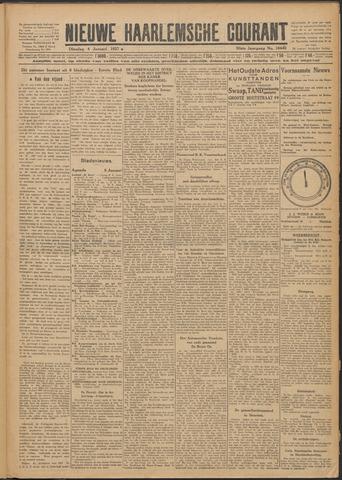 Nieuwe Haarlemsche Courant 1927-01-04