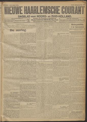 Nieuwe Haarlemsche Courant 1914-10-09