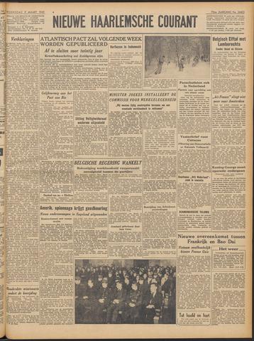 Nieuwe Haarlemsche Courant 1949-03-09