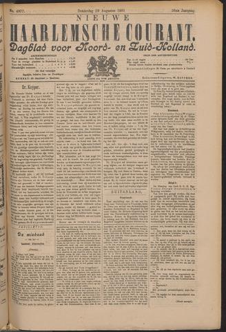 Nieuwe Haarlemsche Courant 1901-08-29