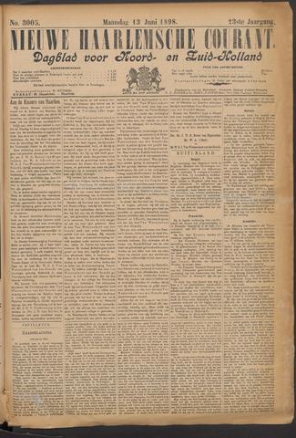 Nieuwe Haarlemsche Courant 1898-06-13
