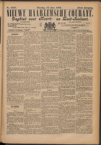 Nieuwe Haarlemsche Courant 1906-06-12