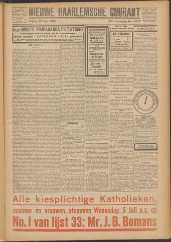 Nieuwe Haarlemsche Courant 1922-06-30